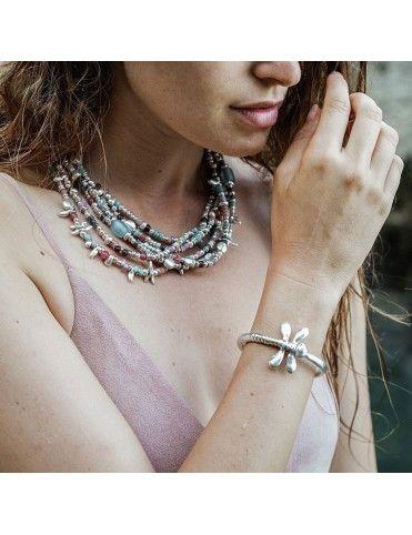 Collar Uno de 50 Metal mujer Any time COL1281MCLMTL0U