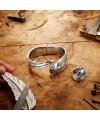 Pulsera Uno de 50 Metal Mujer Pluma PUL1782MTL0000M