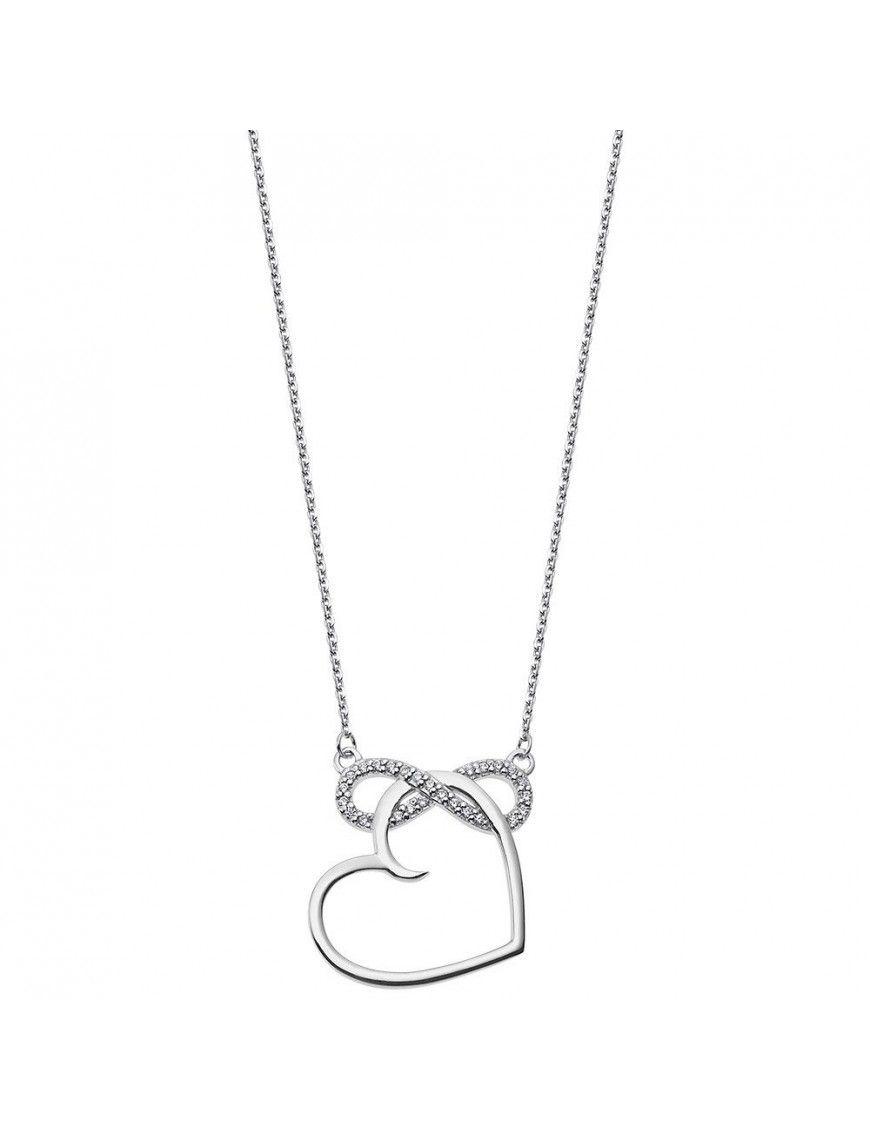 Collar Lotus Silver Mujer Heart LP1819-1/1