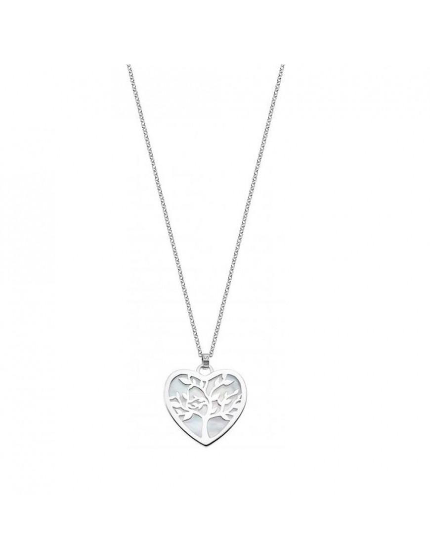 Collar Lotus Silver Mujer Heart LP1820-1/1