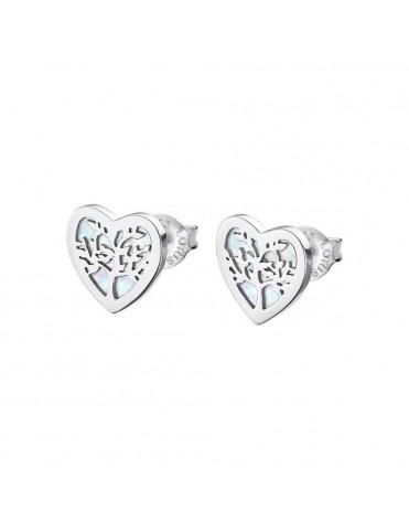 Pendientes Lotus Silver Mujer Plata Heart LP1820-4/1