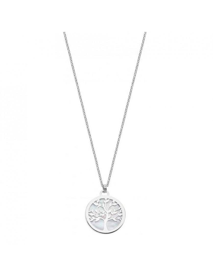 Collar Lotus Silver Mujer LP1821-1/1