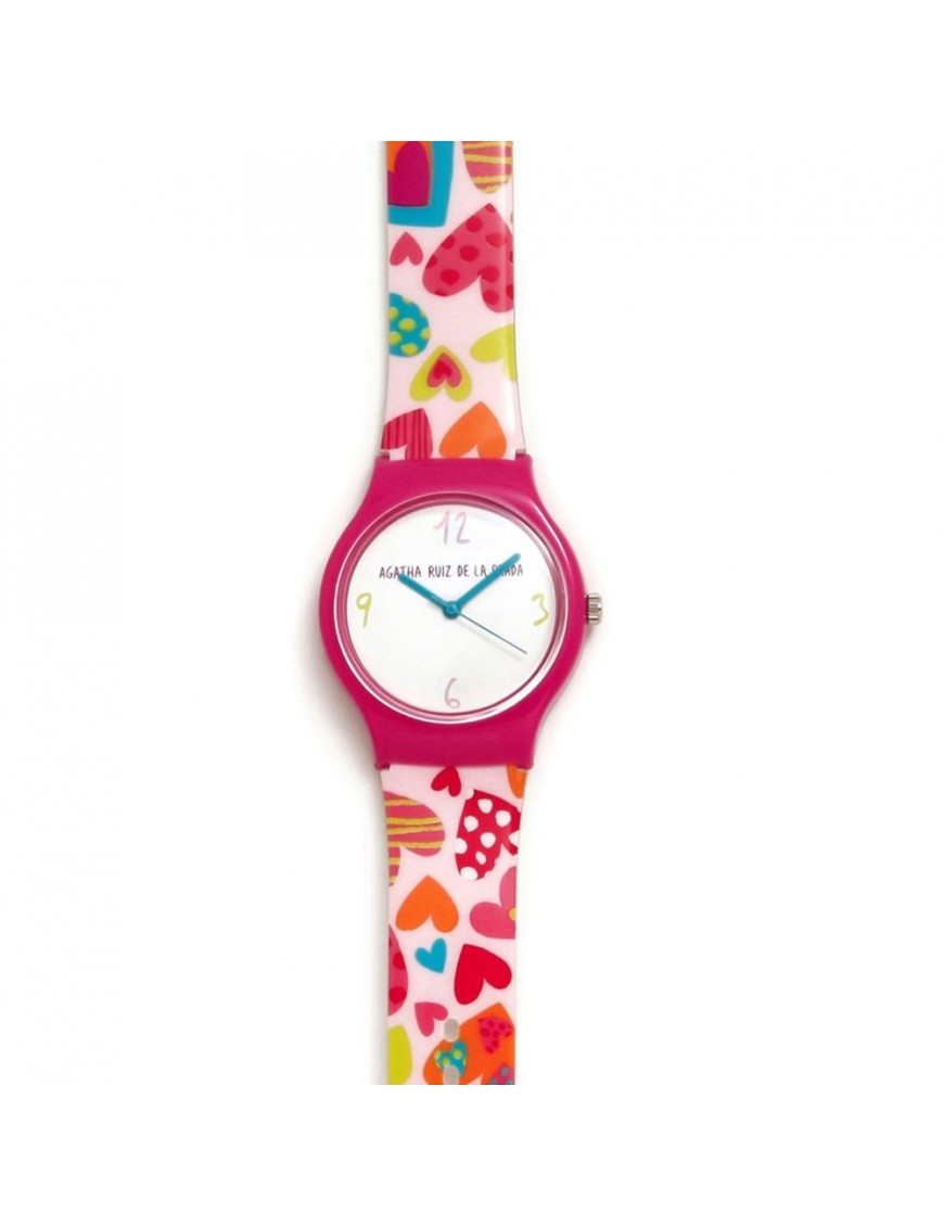 Reloj Agatha Niña Corazones AGR238C