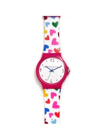 Reloj Agatha Niña Corazones Grande AGR240