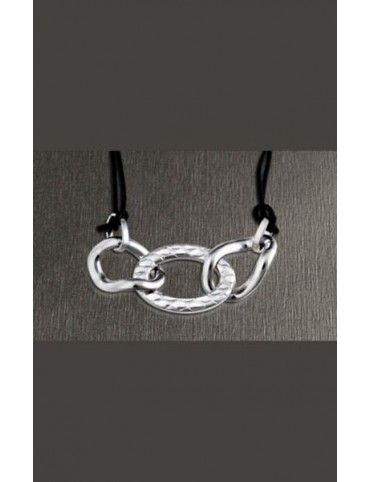 COLLAR LOTUS STYLE ACERO MUJER LS1230-1/1