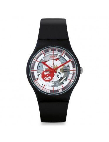 Reloj Swatch Mujer SILIBLACK SUOB153