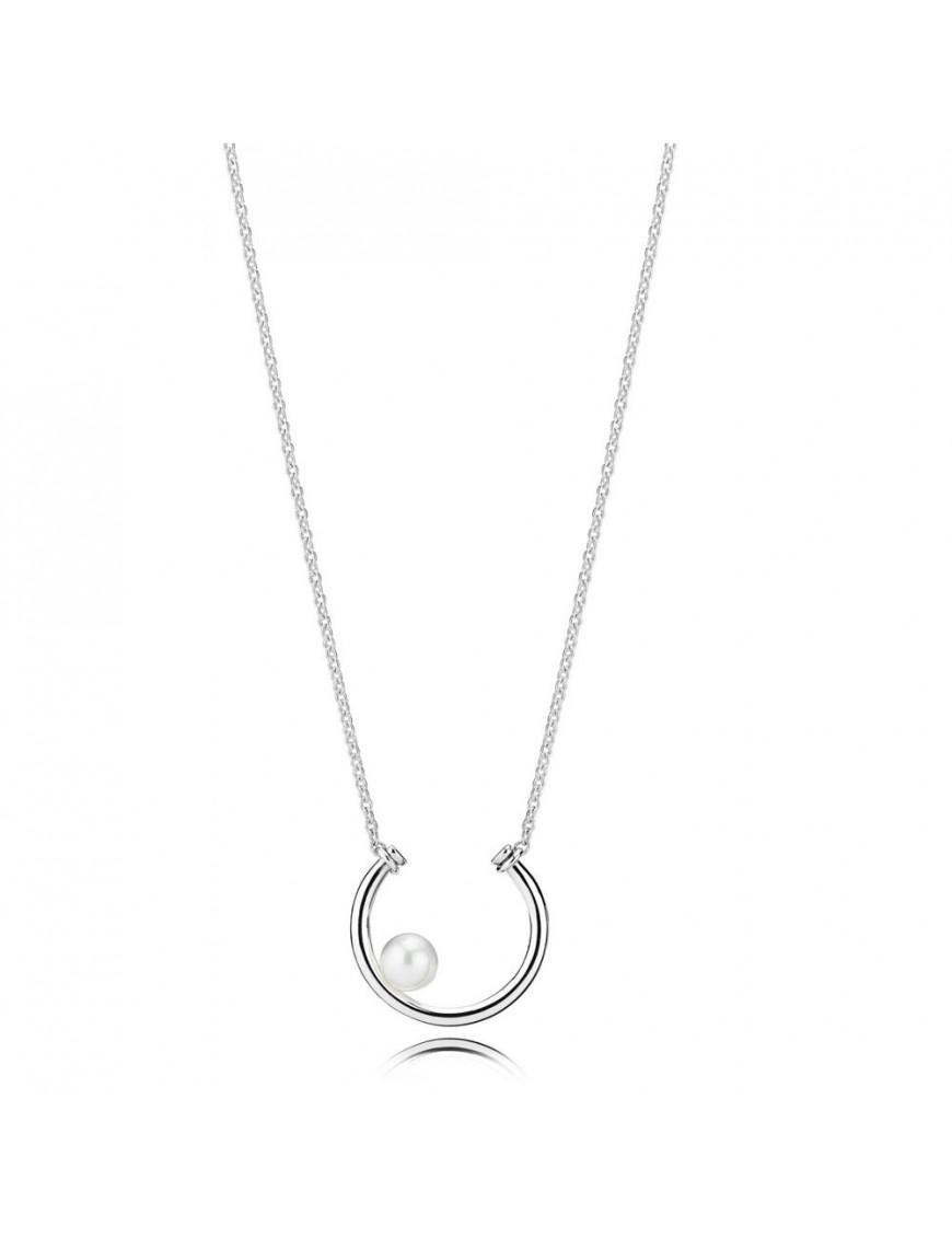 Collar Pandora Plata Perla Contemporánea 397526P-50