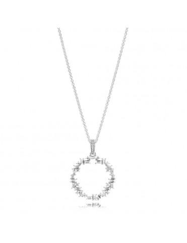 Collar Pandora Fragmentos de brillo 397546CZ-45