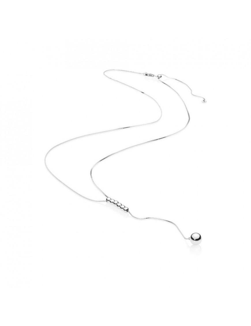 Collar Pandora Plata Cadena de cuentas 397750-70