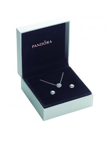 Set collar y pendientes Pandora Elegancia Clásica SET396240_296272WS