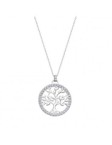 Collar Lotus Silver Mujer LP1746-1/1 Tree of life