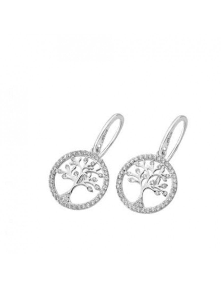 Pendientes Lotus Silver Mujer Plata LP1780-4/1