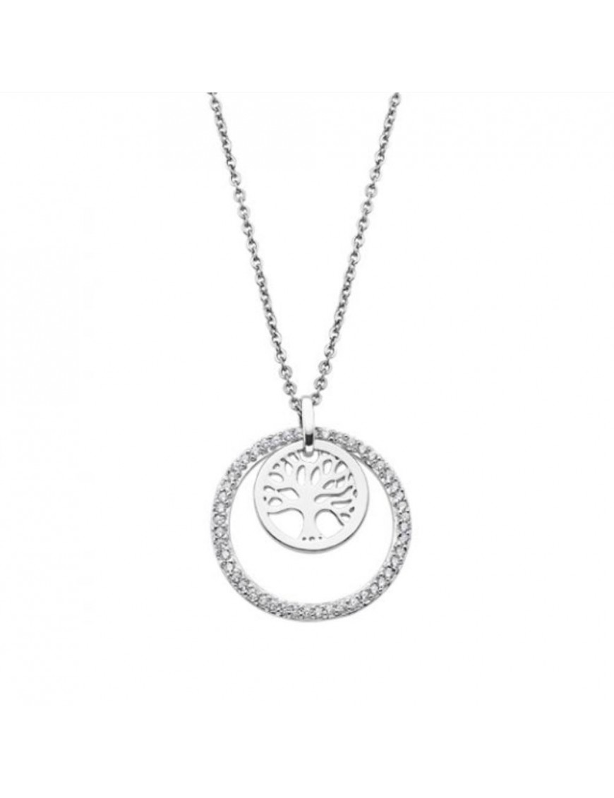 Collar Lotus Silver Mujer LP1688-1/1 Silver Myistic