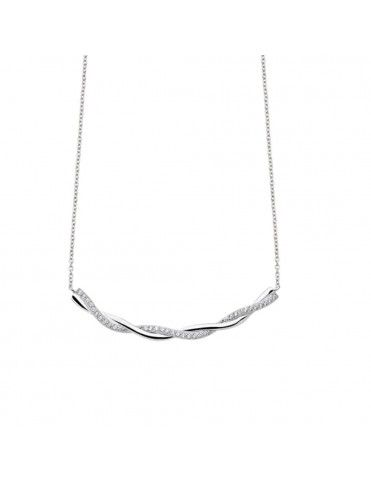 Collar Lotus Silver Plata Mujer Pure Essential LP1906-1/1