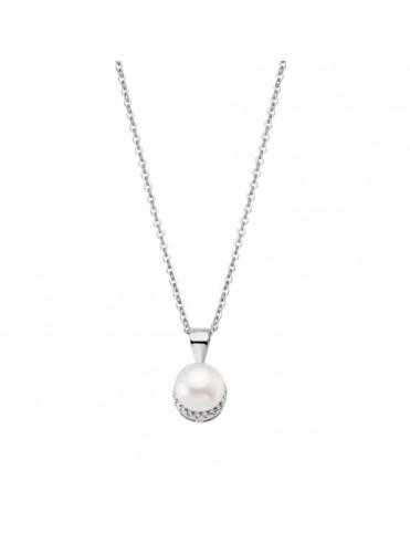 Comprar Collar Lotus Silver Plata Mujer LP1929-1/1 Pearls online