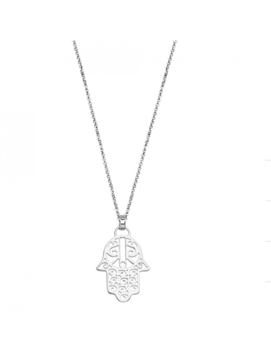 Collar Lotus Silver Mujer LP1849-1/1