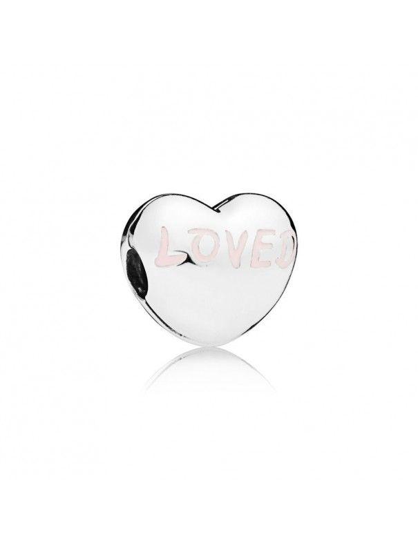 Charm Clip Pandora Plata Corazón Amado 797807EN124