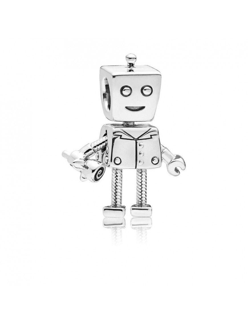 Charm Pandora Plata Rob Bot 797819