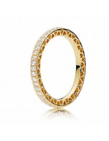 Comprar Anillo Pandora Plata Shine Corazones de 167076CZ-54 online