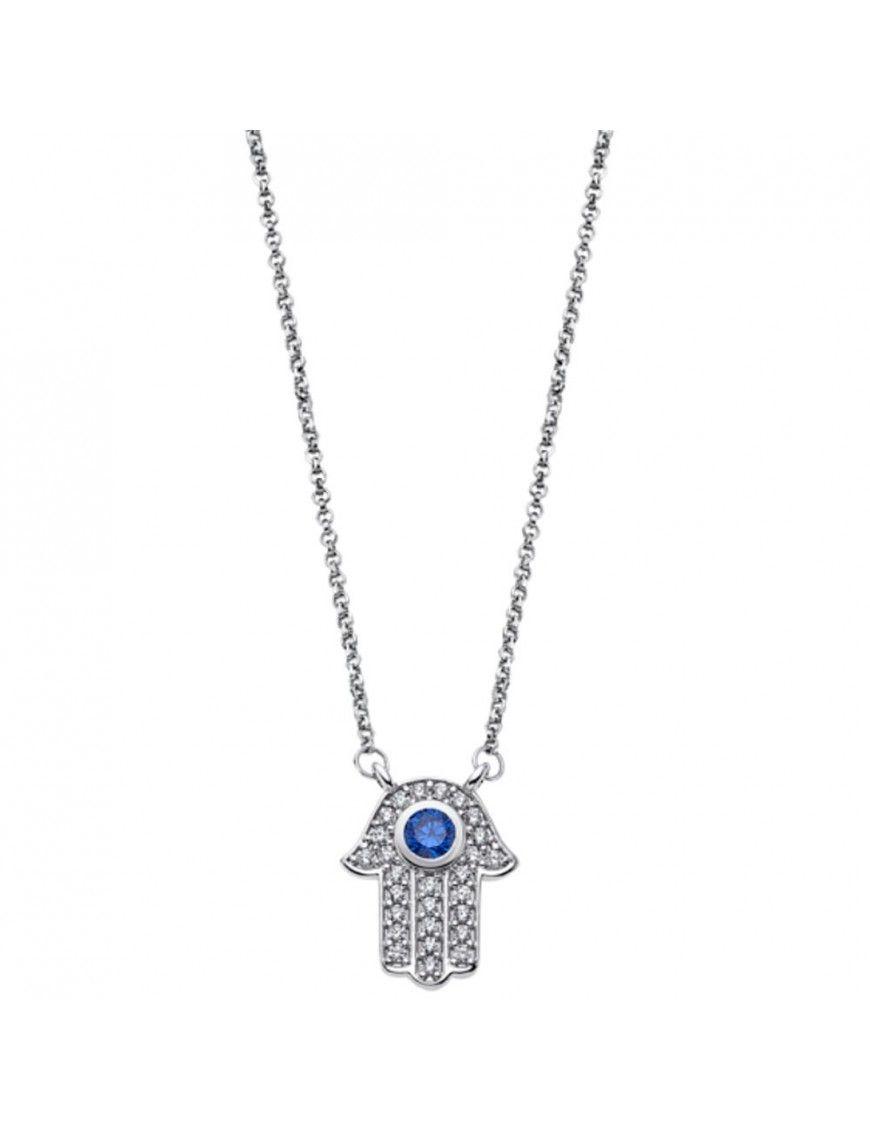 Collar Lotus Silver Mujer Mystic LP1863-1/1