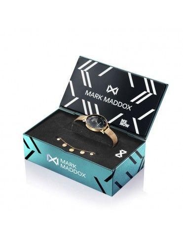 Pack Reloj Mark Maddox + pulsera Mujer MM7118-57 Alfama