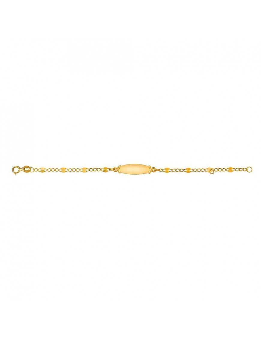 Pulsera Oro amarillo 18Kilates niña MRJY 48306625
