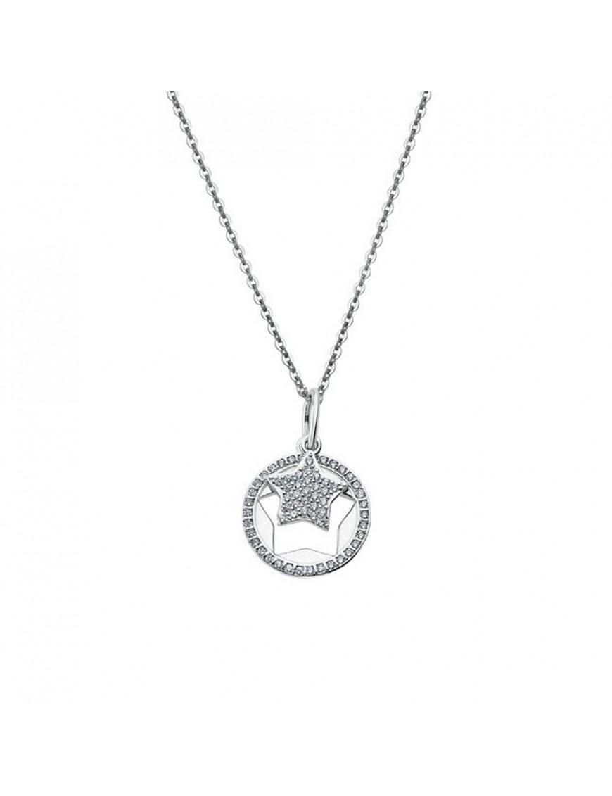 Collar Lotus Silver Mujer LP1866-1/1