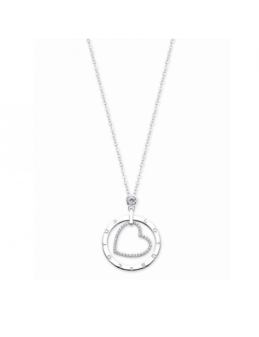 Collar Lotus Silver Mujer Trendy LP1868-1/1