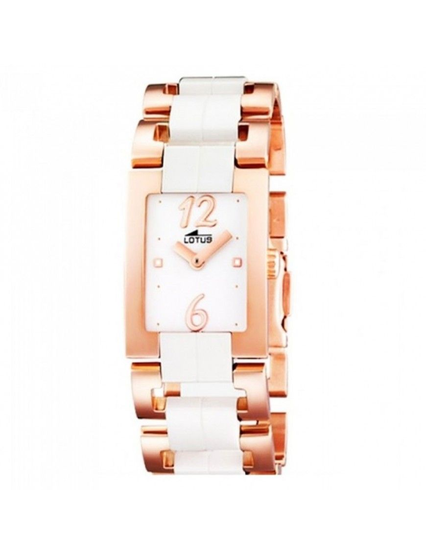 Reloj Lotus Cerámica Acero Mujer 15596/1