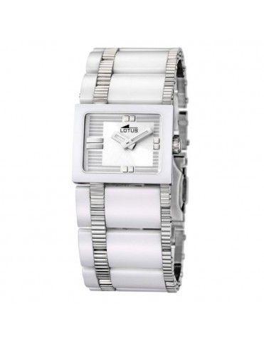 Reloj Lotus Cerámica Acero Mujer 15597/1