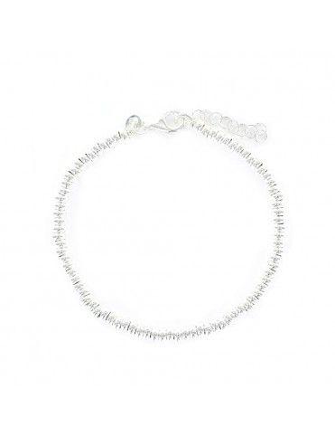 Pulsera Plata Mujer anillas 9104094