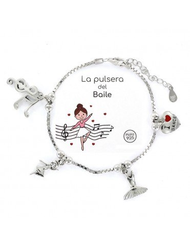 Comprar Pulsera plata Mujer Baile 9104174 online