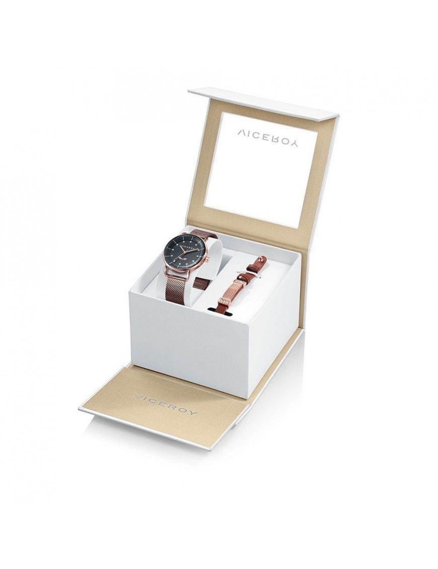 Pack Reloj + pulsera Viceroy Mujer 42362-56