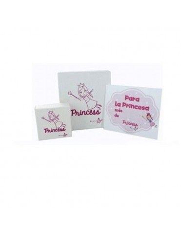 Conjunto Pulsera y Pendientes Princess plata Niña Margaritas 9084457