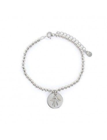 Comprar Pulsera Plata Niña angelito colgando 9106341 online
