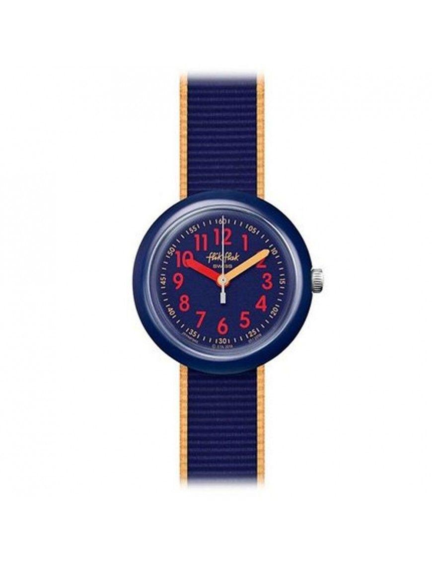 Reloj Flik Flak Color Blast Blue FPNP043