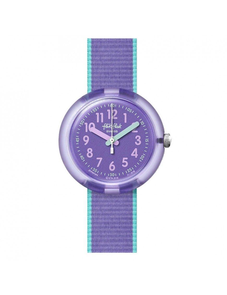 Reloj Flik Flak Color Blast lila FPNP044
