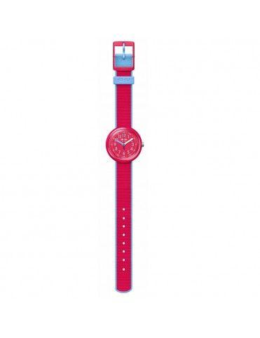 Reloj Flik Flak Color Blast rojo FPNP045