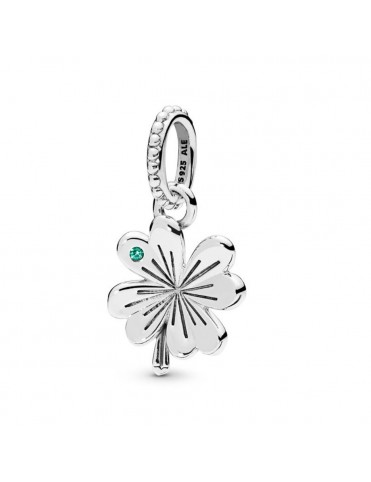 Comprar Colgante Pandora plata Trébol de la Suerte 397965NAG online