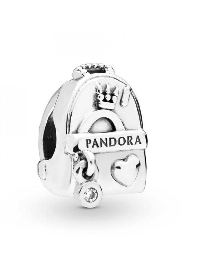 Charm Pandora mochila plata 797859CZ