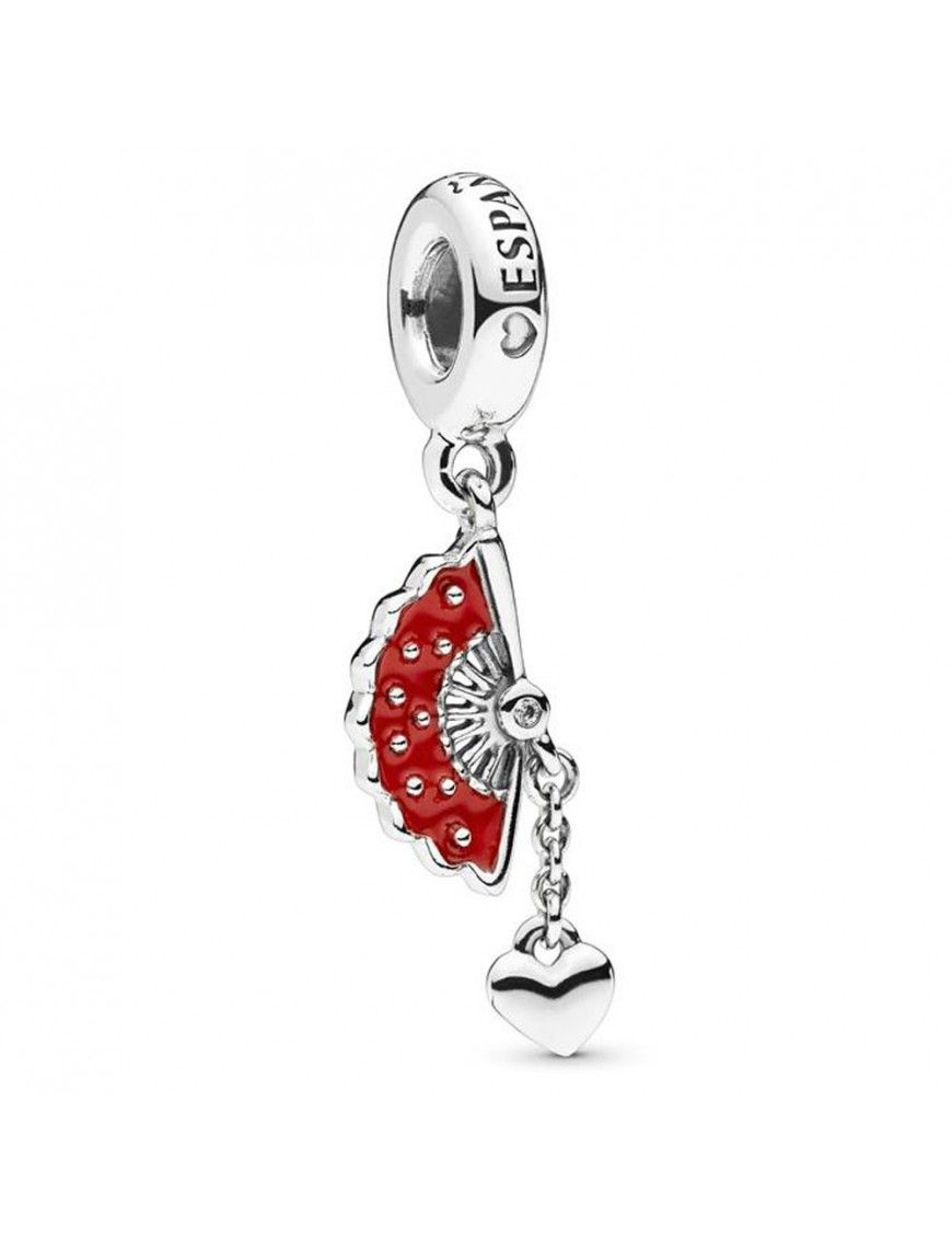 Charm Pandora colgante plata abanico en plata de ley 797879EN09