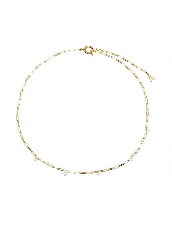 Collar PDPAOLA Plata mujer CO01-083-U