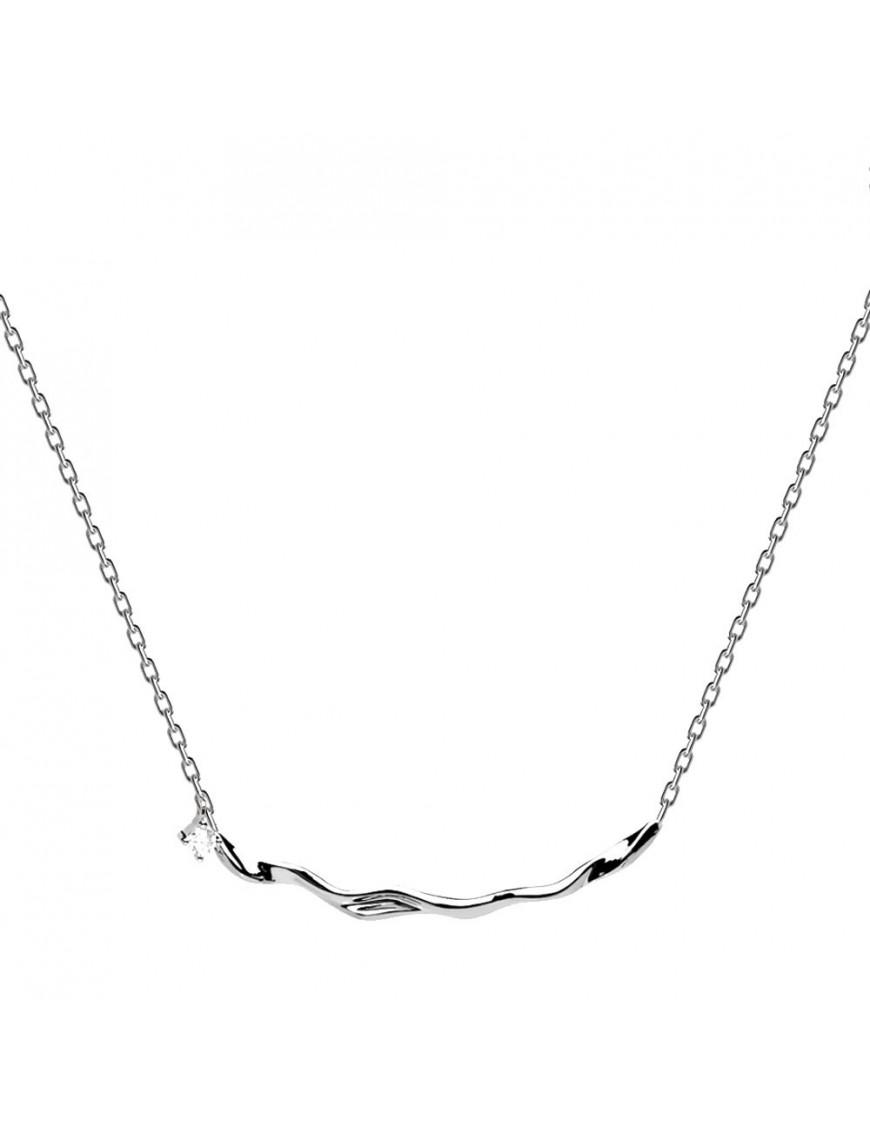 Collar PDPAOLA Plata mujer CO02-081-U