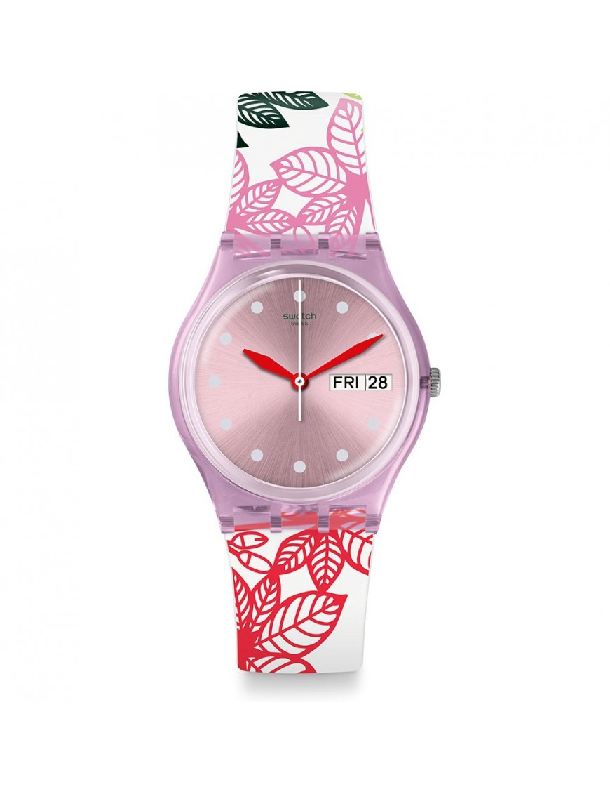 Reloj de mujer Swatch Summer Leaves GP702