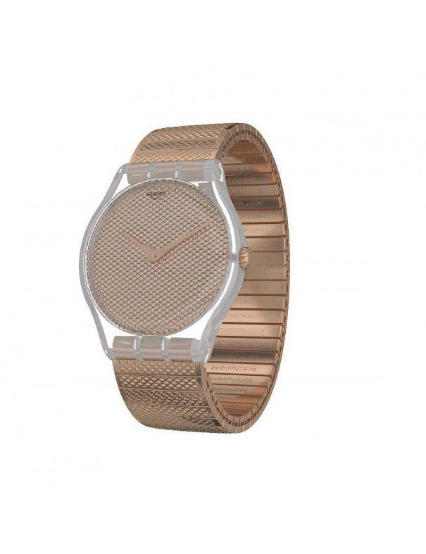 Reloj Swatch mujer Deep Poudreuse L SUOK134A