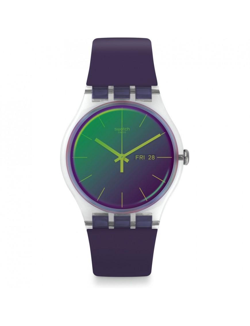 Reloj Swatch mujer Polapurple SUOK712