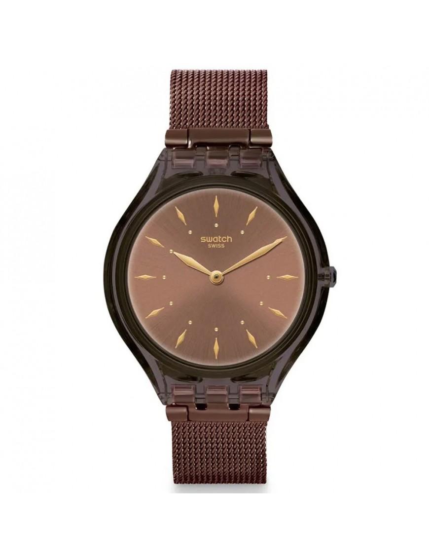 Reloj Swatch ultrafino mujer Skinchoc SVOC101M