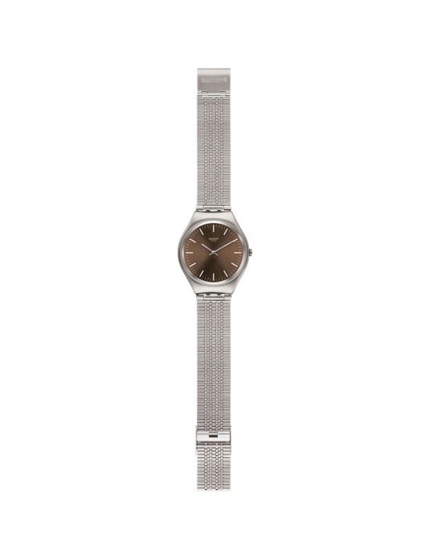 Reloj Swatch ultrafino unisex Skin SYXS112GG Skinboot