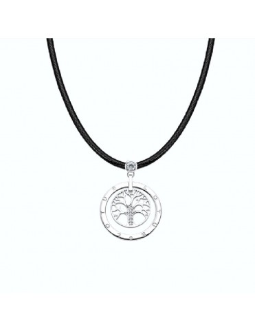 Collar Lotus Silver Mujer Trendy LP1870-1/2