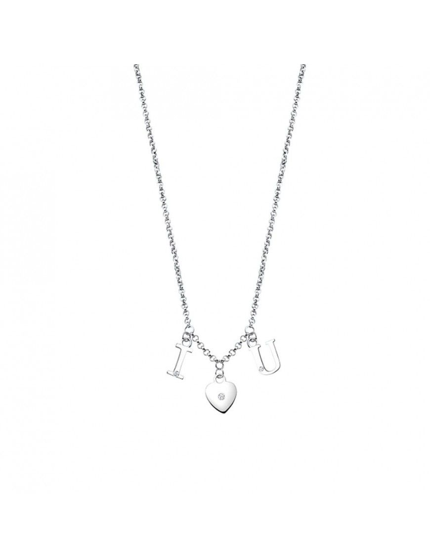 Collar Lotus Silver Mujer Moment LP1731-1/1